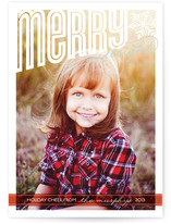 Merry Bright Cheer Holiday Postcards