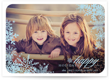 Snowflake Window Holiday Postcards