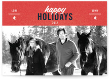 Cool Couple Holiday Postcards