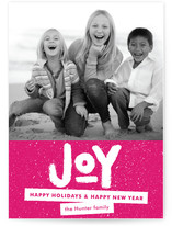 Standout Joy Holiday Postcards