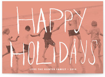 Peach Passion Holiday Postcards