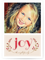 Serene Joy Holiday Postcards