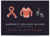 Bundled Tight Holiday Postcards