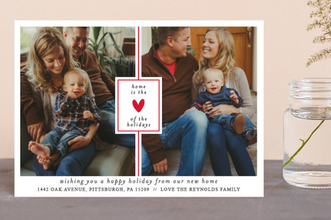 the heart of the holidays Holiday Postcards