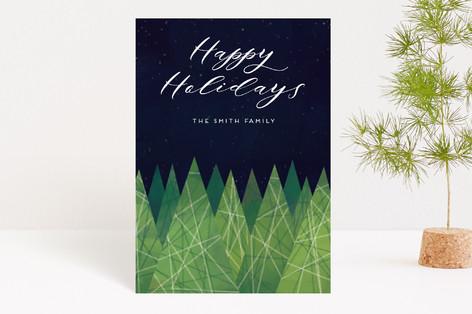 Christmas Trees Holiday Postcards