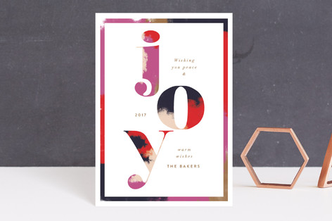 Graphic Glory Holiday Postcards