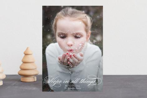 Hopeful Holiday Postcards
