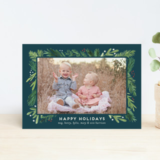 Branches Framed Holiday Postcards