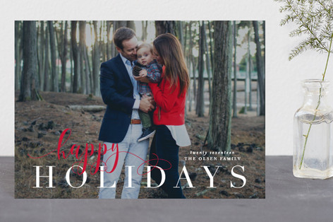 BerryMerry Holiday Postcards