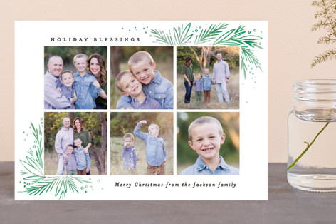 Christmas Blessing Pine Corners Holiday Postcards
