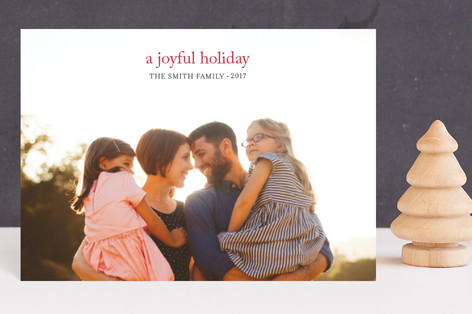 a joyful new year Holiday Postcards