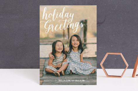 Simply Stated Holiday Postcards