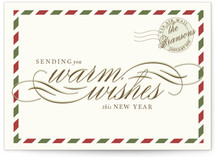 Airmail Holiday Postcards
