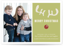 Joyeux Noel + Reindeer Holiday Postcards