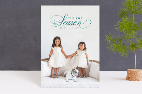 Elegant Christmas Holiday Postcards