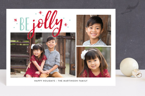 Jolly Stars Holiday Postcards