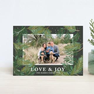 Winter Pine Holiday Postcards