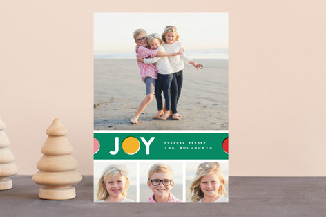 Joy Dot Holiday Postcards