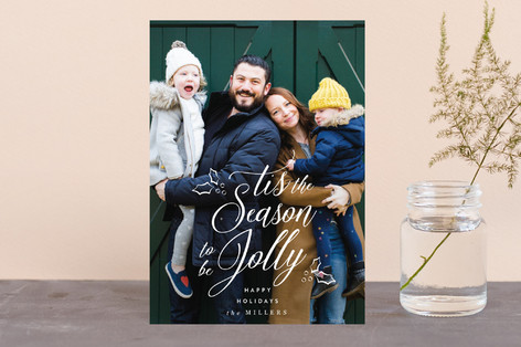 Tis the Season to be Jolly Holiday Postcards