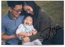 Joy Script Holiday Postcards