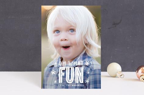 festive + fun Holiday Postcards