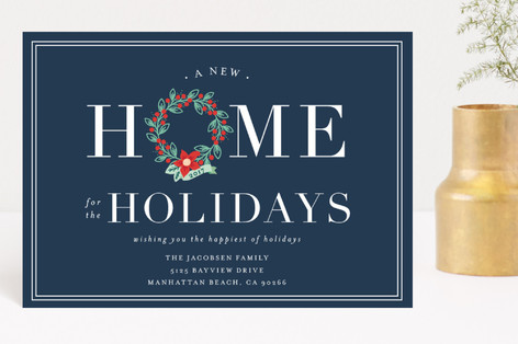 Home for the Holidays Holiday Postcards