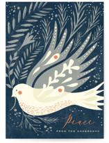 PEACE DOVE FOIL by Hannah Williams