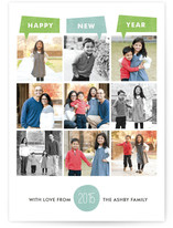 Year of Photos Holiday Postcards