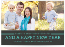Bright Beginnings Holiday Postcards