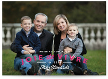 Joie de Vivre Holiday Postcards