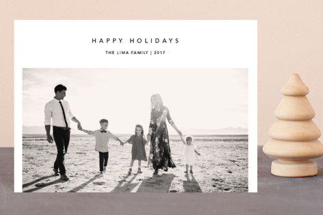 Christmas Simplicity Holiday Postcards