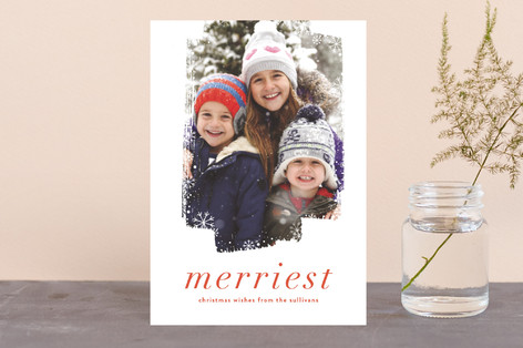Frosted Holiday Postcards