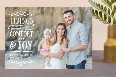 Comfort + Joy Holiday Postcards