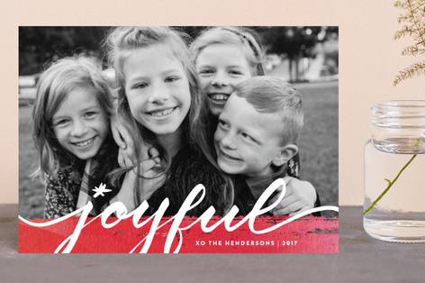 Joyful art Holiday Postcards