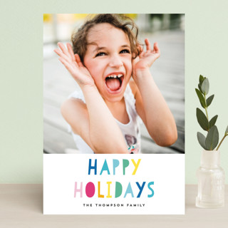 So Bright and Cheerful Holiday Postcards