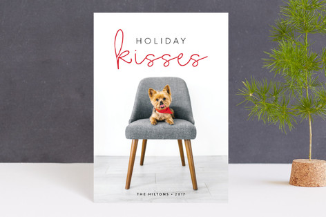 Holiday Kisses Holiday Postcards