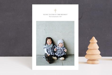Petite Cross Holiday Postcards