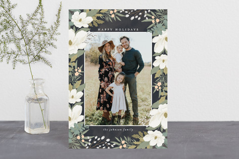 Garden Frame Holiday Postcards