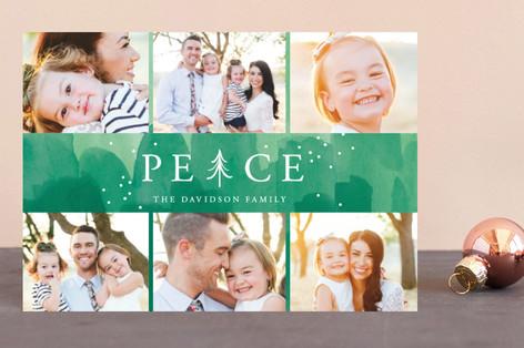 Peace Tree Holiday Postcards