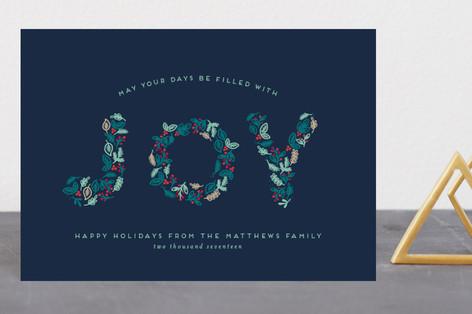 Joyful Greetings Holiday Postcards