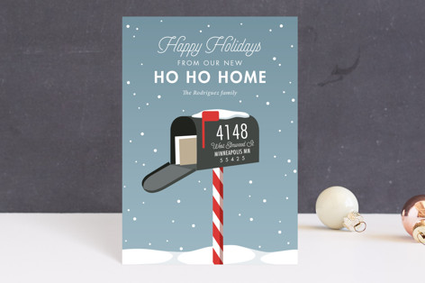 Merry Mailbox Holiday Postcards