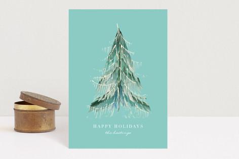 love light & tinsel Holiday Postcards