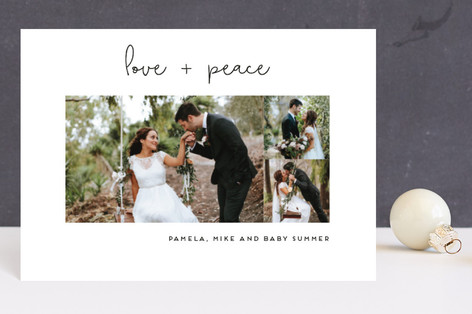 Simply Chic Holiday Postcards