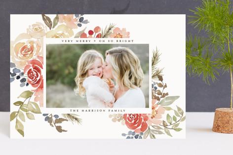 Bright Holiday Garden Holiday Postcards