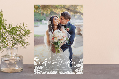 New Mr and Mrs Holiday Postcards