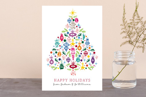 Merry, Merry Christmas... Tree Holiday Postcards