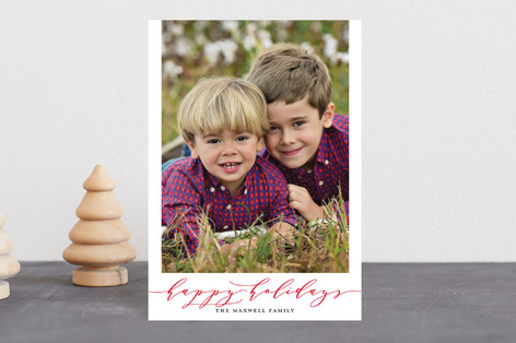 Timeless Charm Holiday Postcards