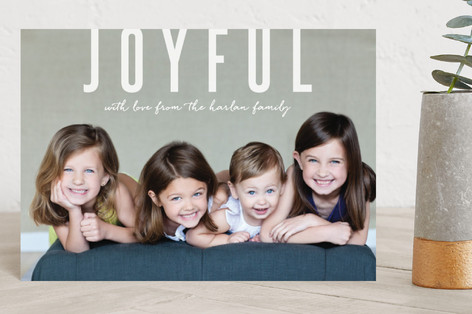 Joyful Greetings Holiday Postcards