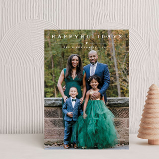 Height of Happiness Holiday Postcards