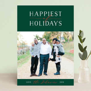 Bliss Holiday Postcards